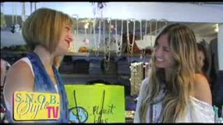 Snob Style TV - Shopping Celebrity Trends at Planet Blue