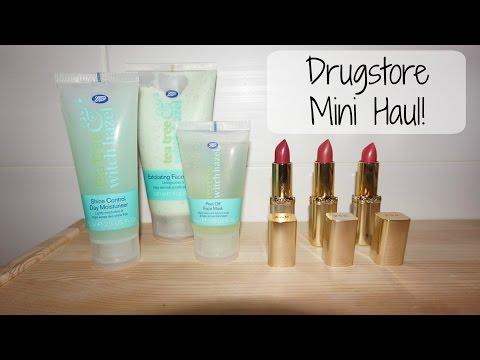 Drugstore Mini Haul | Loreal Color Riche | Boots Tea tree & Witch hazel | K's Mum