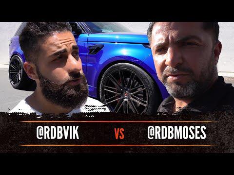 #RDBLA VIK vs MOSES, CRAZY FERRARI F12, SVR ROVER, 60's Mercedes...