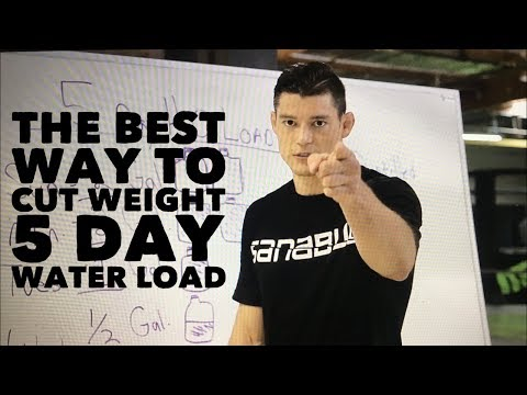 The Best way to Cut Weight -5 Day Water Load