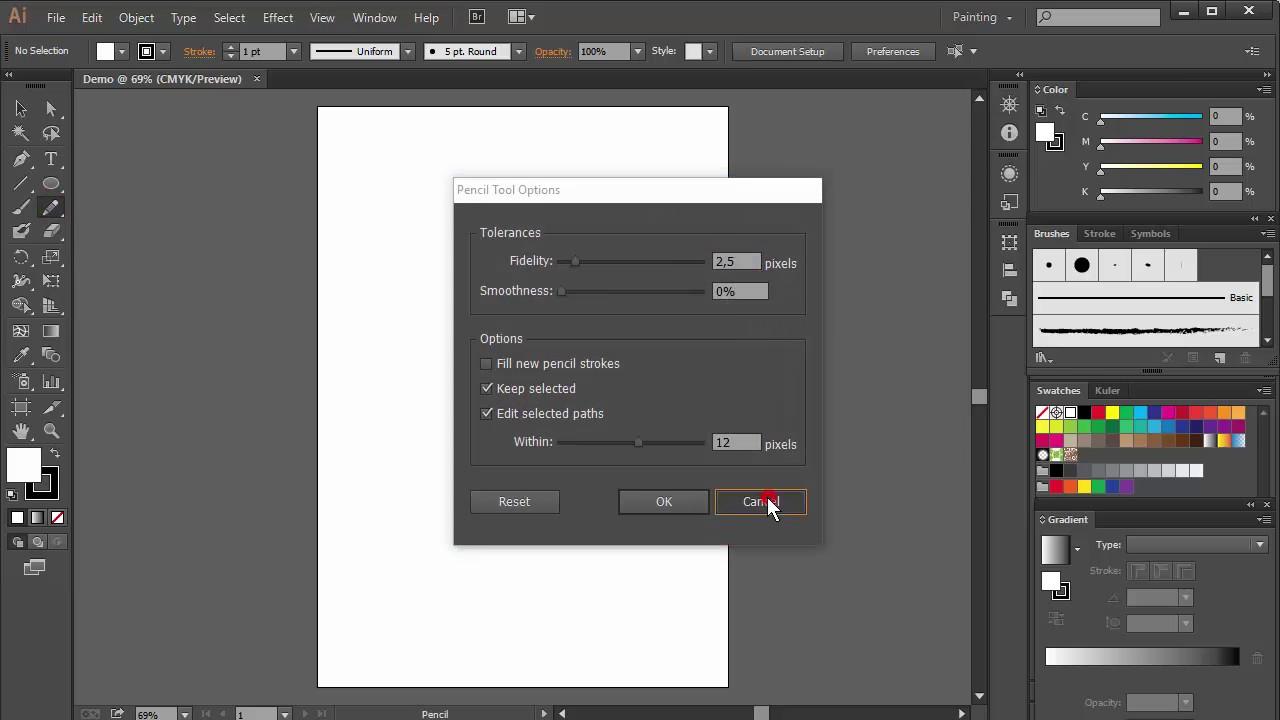 Bài 1. Làm quen với phần mềm thiết kế đồ họa Adobe Illustrator