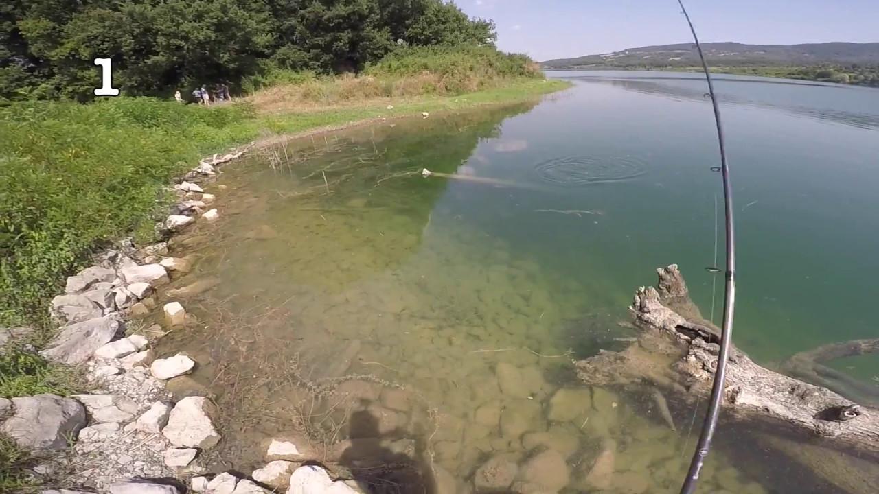 La pesca sul fiume un sudost la regione di Bryansk