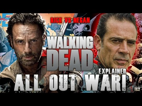 The Walking Dead Season 8 - All Out War Explained - Major Spoiler Warning!