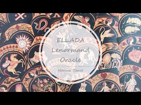 開箱  達尼洛夫希臘雷諾曼 • ELLADA Lenormand Oracle // Nanna Tarot