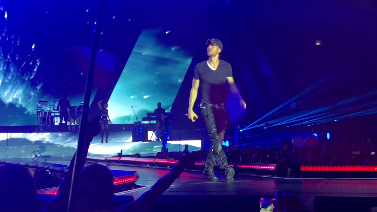 Enrique Iglesias - Be with you + Tired of being sorry - live in Prague, Czech republic - 8.5.2018