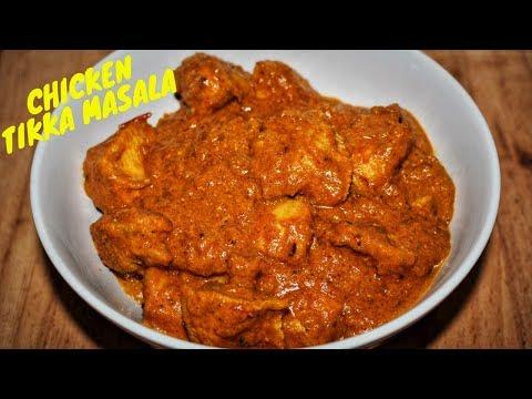 Chicken Tikka Masala Recipe-How To Make Chicken Tikka Masala Curry-Indian Style Chicken Tikka Masala