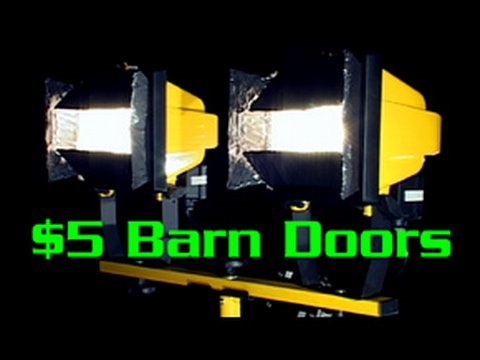 5 Barn Doors For Work Lights Youtube