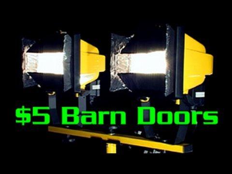 5 Barn Doors For Work Lights Youtube