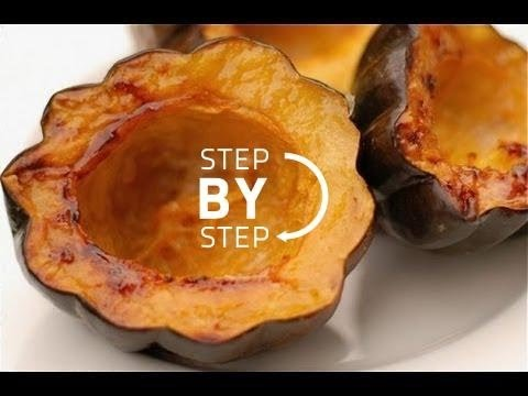 Roast Acorn Squash, Roasted Acorn Squash Recipe, How to Roast Acorn Squash