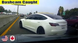 Ultimate North American Cars Driving Fails Compilation - 124 [Dash Cam Caught Video]
