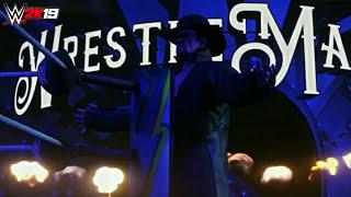 WWE 2K19: The Undertaker *FULL* WrestleMania 34 Entrance!