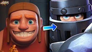 The Builder Is The Person Hidden Inside Of The Mega Knight's Armor In Clash Royale [ReTrex]