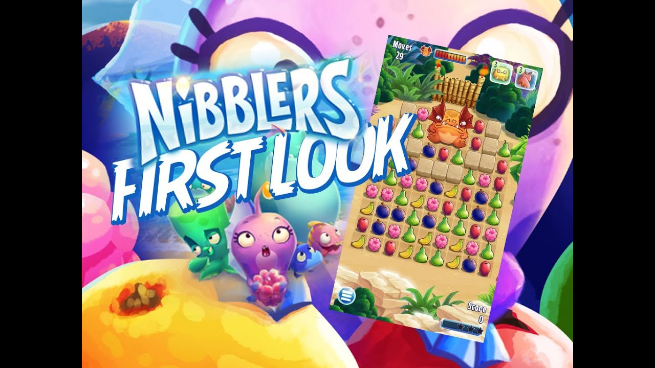 First Look at Nibblers by Rovio - A Fruit Match Puzzle Game for ...