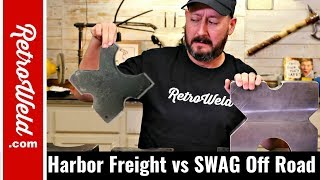 Harbor Freight vs SWAG Off Road Arbor Press Plates