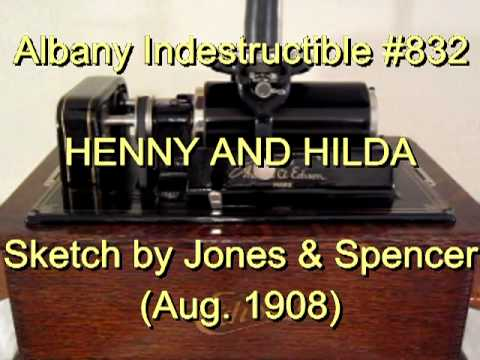 832 - HENNY AND HILDA, Sketch by Jones & Spencer (Aug. 1908)
