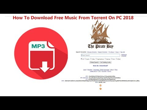 How To Download Free Music From Torrent On PC 2018