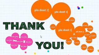 Agar.io - Thank You for over 200k Subscribers!