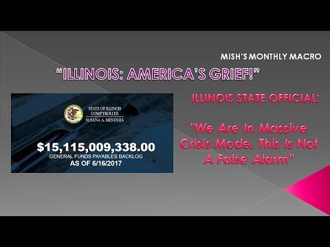 "MACRO ANALYTICS - 06 16 17 - ILLINOIS: America's Grief!"" - w/Mish Shedlock"