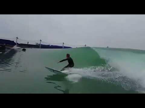 Chris Coté at Kelly Slater Surf Ranch