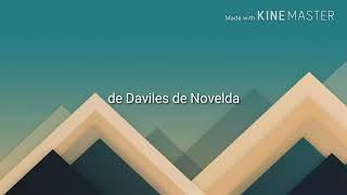 Daviles de Novelda (LAS CALLES DE ORO) LETRA