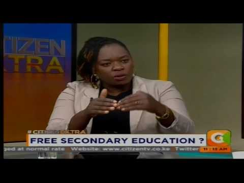 Free Secondary Education #CitizenExtra