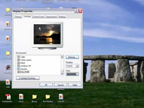How To Change Your Wallpaper In Windows Xp