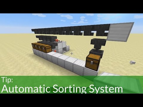 Tip: Automatic Sorting System in Minecraft from YouTube · Duration:  13 minutes 37 seconds