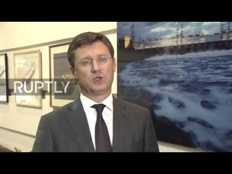 Russia: Energy Minister Novak meets Algerian counterpart ahead of 15th International Energy Forum