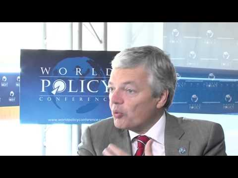 World Policy Conference 2013 - Didier REYNDERS