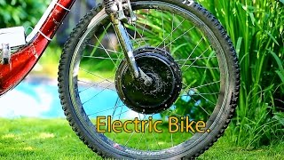 How I Built My First Electric bike. Homemade 1000 W . 60km/h.    Tips how to make it cheap.
