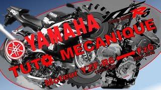 [TUTO] - Mécanique moto - Remplacement moteur YZF-R6 par Fz6
