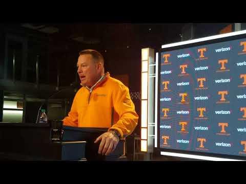 Butch Jones - Vols HC (Wed update Alabama week)