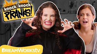 Vampire Babysitter PRANK | KNOCK KNOCK PRANKS