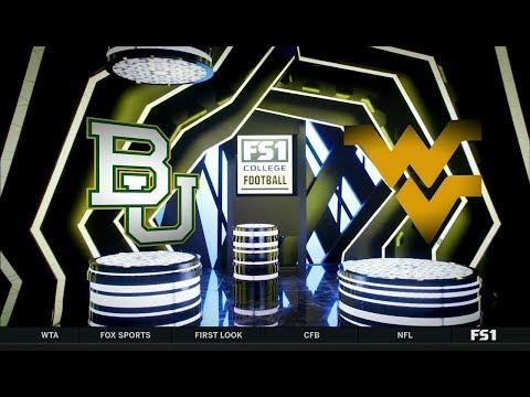 NCAAF 2018 10 25 Baylor at West Virginia 720p60