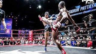 Самый красивый жесткий бой 2016 (Кикбоксинг K-1 Муай Тай)