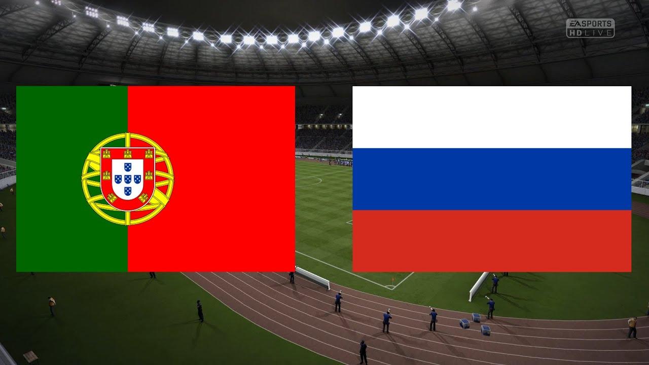 Russland Gegen Portugal