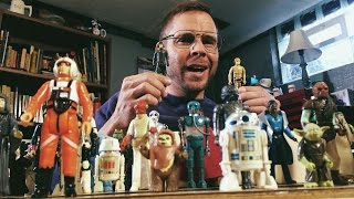 Dad Unboxing His Star Wars Toys
