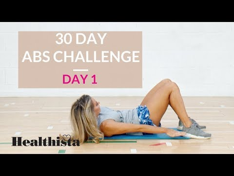 30 Day Abs Challenge | Day One