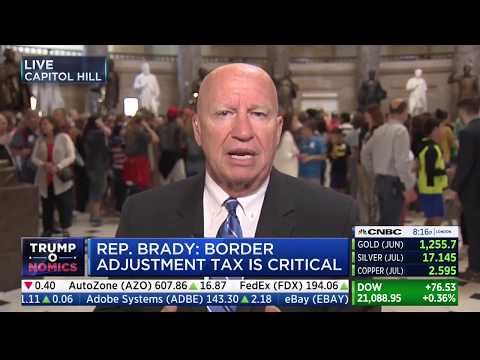 "Chairman Brady on CNBC's ""Closing Bell"""
