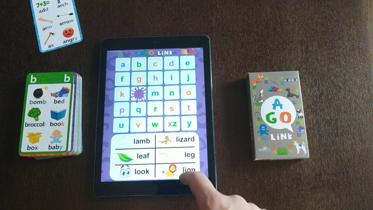 AGO Link App (included with AGO Phonics Apps)