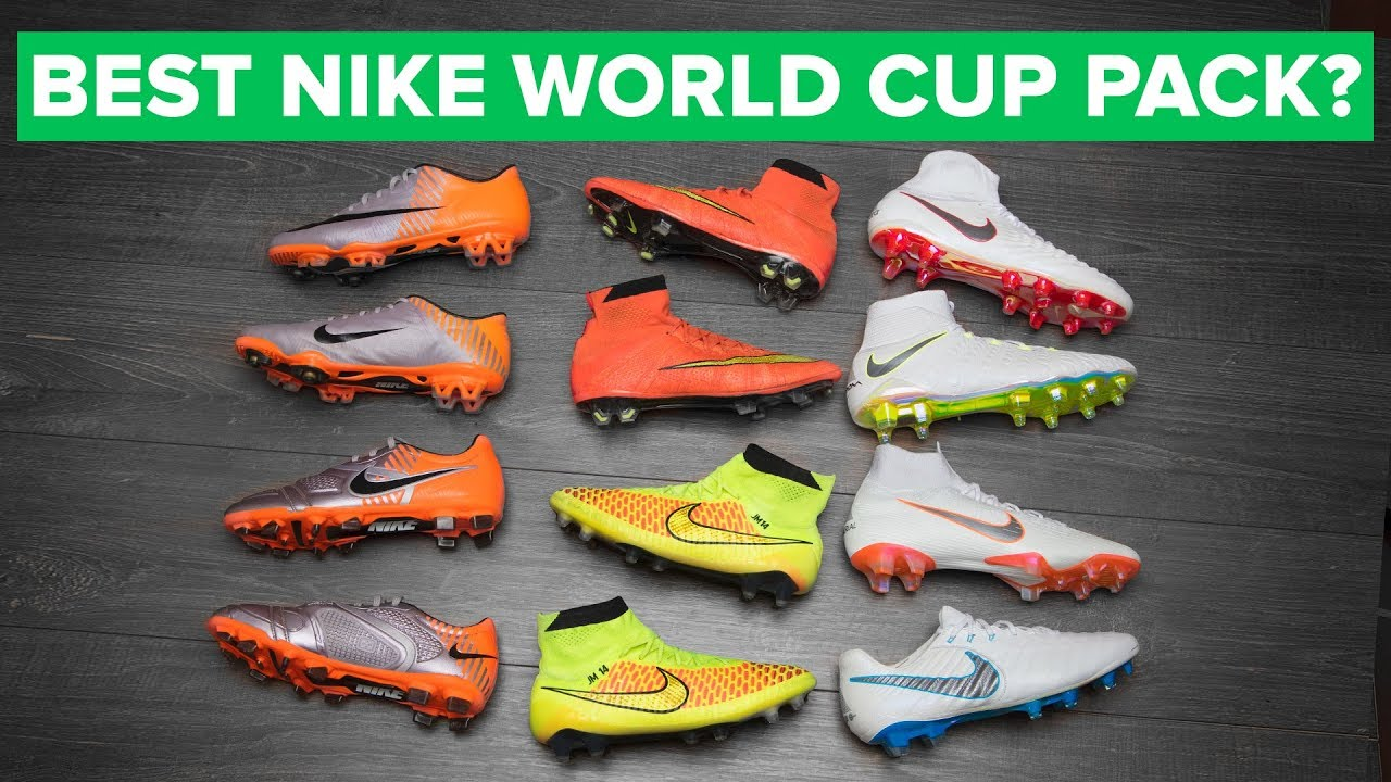 7189e882e BEST NIKE WORLD CUP FOOTBALL BOOTS EVER? | Nike Just Do It Pack ...