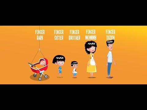 Cantec nou: Familia Deget - cantece pentru copii Paradisul Vesel TV