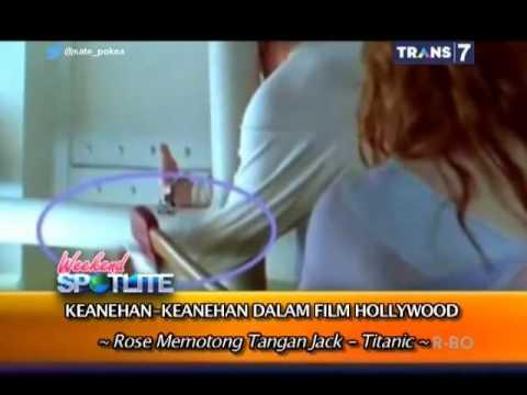 Spotlite Trans 7 - Keanehan-Keanehan dalam Film Hollywood