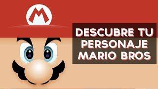 Qué Personaje De Mario Bros Eres Test Divertidos Youtube