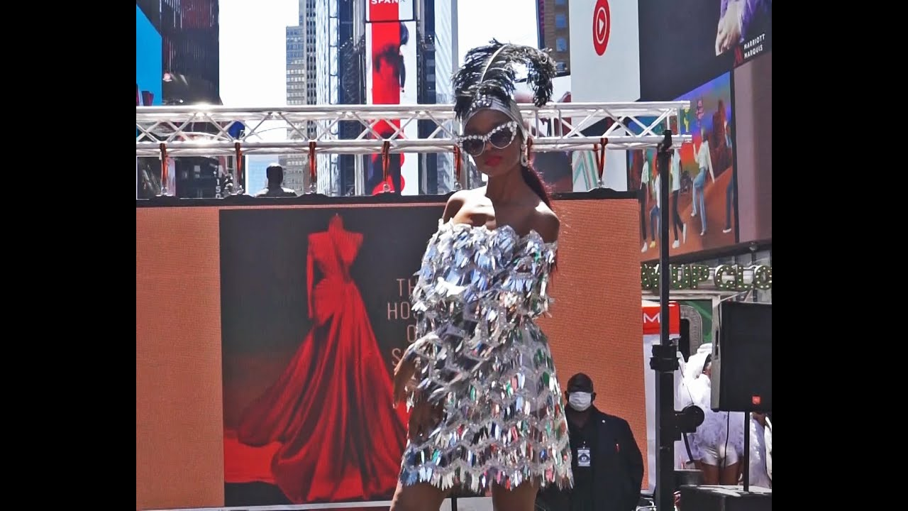 Times Square Fashion Show with the House of Sofia