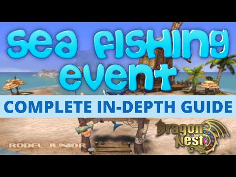 How To Go And Catch Fish In Bonus Island Fishing Ground (Explained) + Important Tips | Dragon Nest