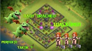 Babydrachen & Walküren Perfekte Taktik RH9 ? Let's play Clash of Clans