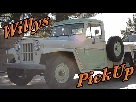 2016 Jeep Truck >> 1957 Willys Jeep Truck Pick-up | Budget Restoration By The ...