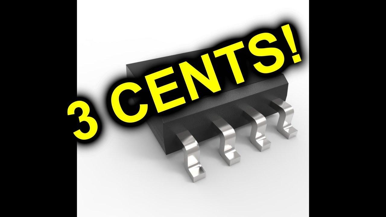Eevblog  1132 - The 3 Cent Microcontroller