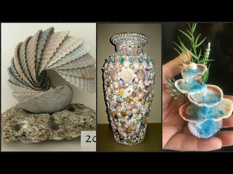 New Sea Shell Craft Idea's.